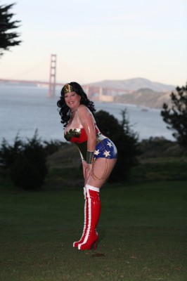 Custom Latex Wonder Woman