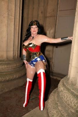 Custom Latex Wonder Woman