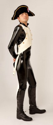 Custom Latex Napoleon Suit