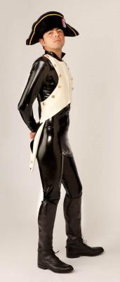 Custom Latex Napoleon Suit
