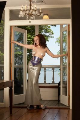 Custom Latex Dress