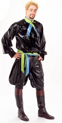 Custom Latex Men's Outfit