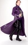Custom latex Great Coat