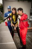 Custom Couture Latex Superheroes Outfits