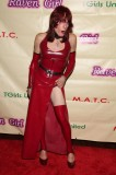 Rachel in Red Latex