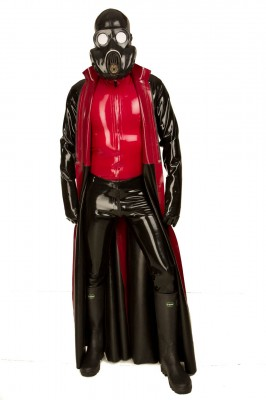 Custom Couture Latex Coat