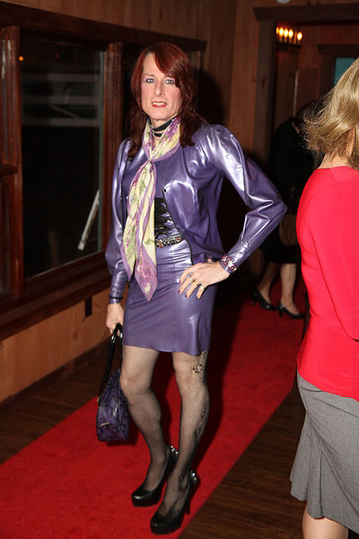 Bondage at tiffanys dress