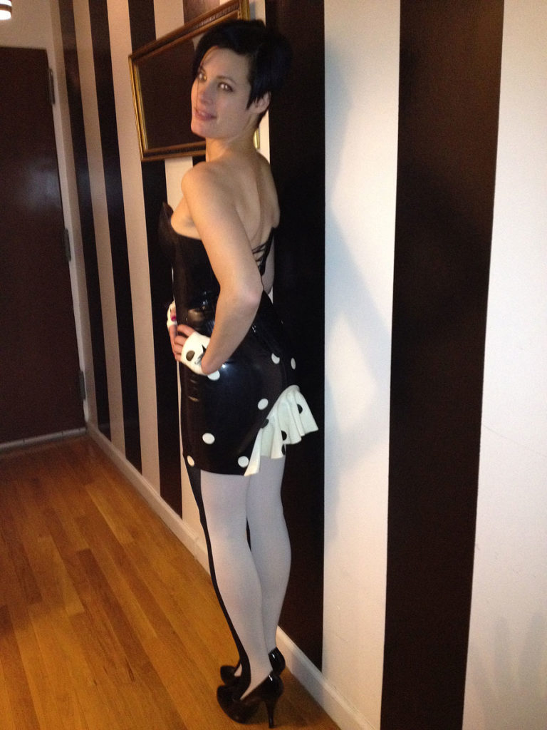 Latex Skirt -customer photo