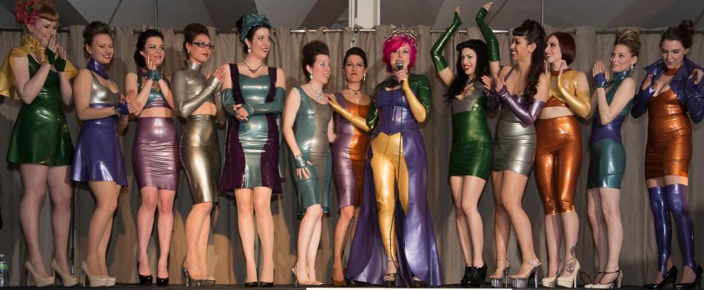 Latex Fashion Show in New York