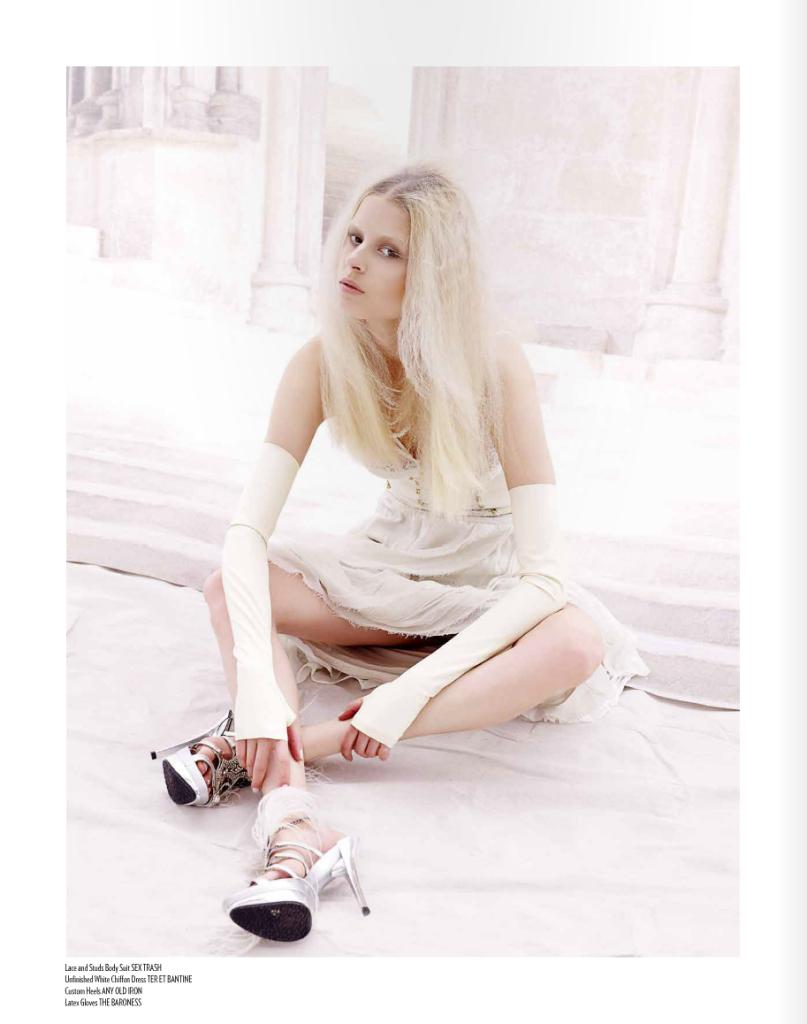 Latex Opera Gloves in Relapse Magazine