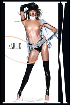 Latex Leggings, Briefs, and Gloves in Spanish Vogue