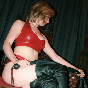 Mistress Diana in Red Latex