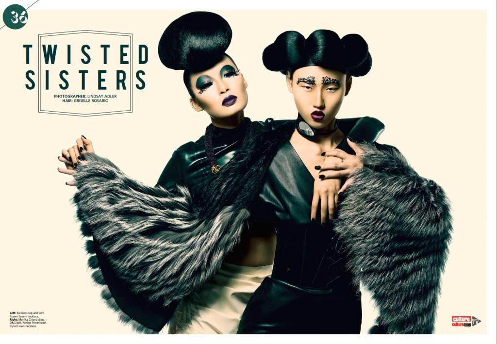 Baroness Latex in Culture Magazine
