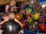 Balloons, Fetish Balloon Parties, Fetish Retinue, Fetish Retinue Party, Latex Clothing, Latex rubber fetish fashions clothing clothes, New York, New York City, The Baroness, dominant woman, fetish, fetish parties