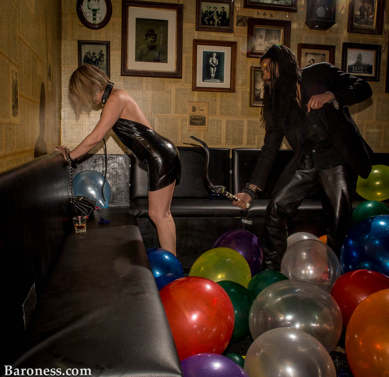 A Balloon Fetish Party To Close The Ny Fetish Marathon-5321