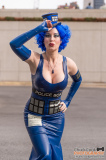 Custom Latex Tardis Outfit by The Baroness