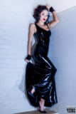 Dresses, Latex Clothing, Mitts, Myrna Loy Dress, NYC, New York City, accessories, women's