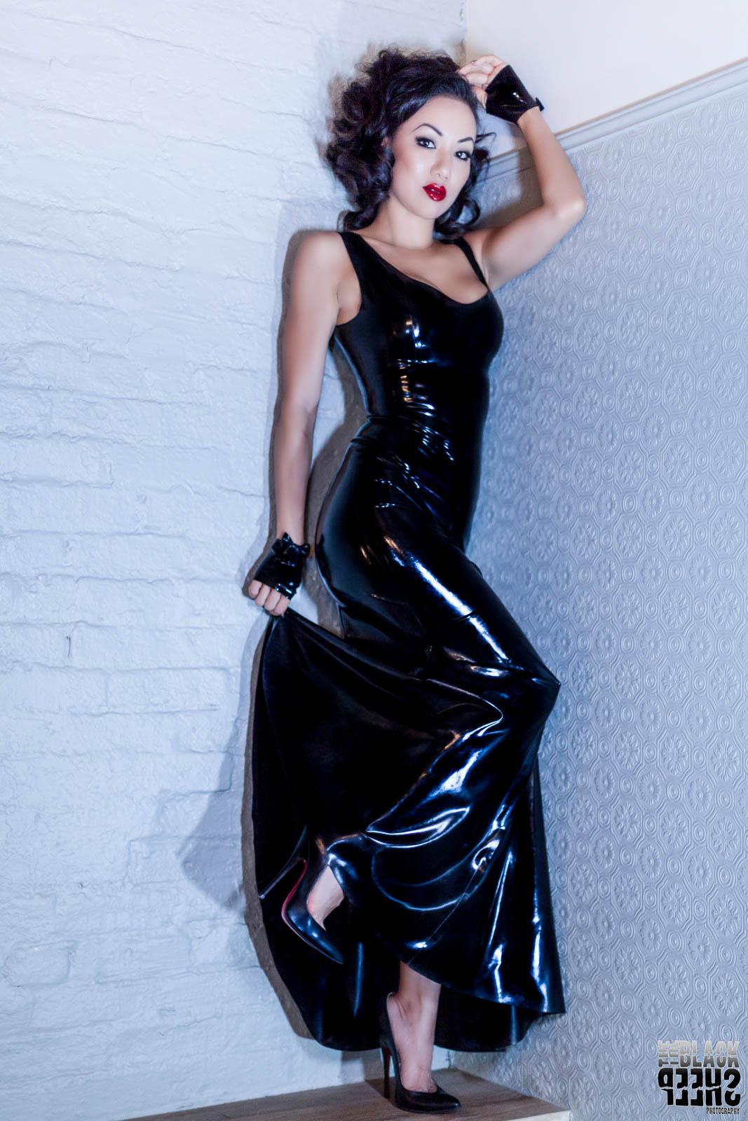 The Inimitable Jade Vixen in LATECSTASY Magazine - Latex ...