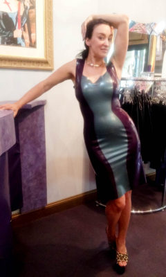 Betty Bizarre at The Baroness' NYC boutique