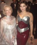 Baroness Latex Golden Globes Hannah Dunne