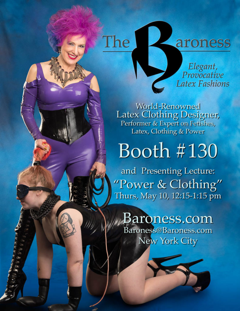 The Baroness will be at DomCon LA