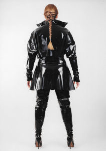 Latex Bolero Jacket Skating Skirt
