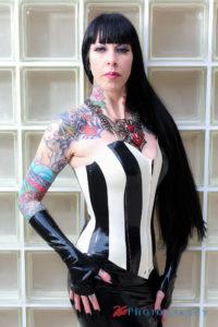 Baroness latex Bodice Corset